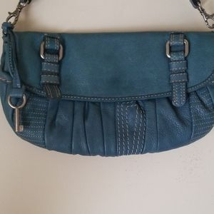 Fossil Leather Purse/Wristlet/Clutch ZB2638